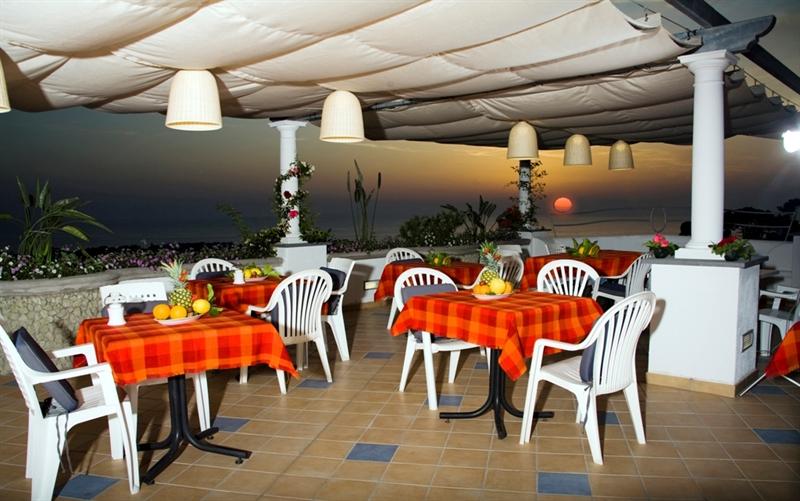 Ischia residence la rosa il ristorantino